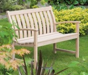 Alexander Rose Bella Vista Roble 4ft Bench Life Style