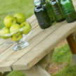 Alexander Rose Heavy Duty Picnic Table 6 Foot